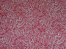 "LIBERTY OF LONDON TANA LAWN FABRIC ""Tom Daley"" 2 METRES (200 cm) PINK"