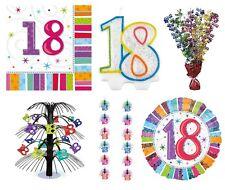 Articoli multicolore Amscan compleanno adulto per feste e occasioni speciali