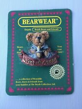 New Boyd's Bears & Friends Bearware Collection Light a Candle Pin (Fc)