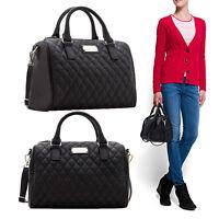 Black Fashion Ladies Women's Leather Handbag Tote Shoulder Messenger-Bag ss