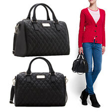 Black Fashion Ladies Women's Leather Handbag Tote Shoulder Messenger Bag Pro