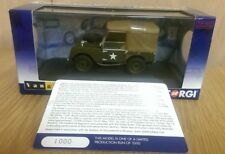 "Corgi Vanguards Va11113 Land Rover Series 1 80"" 1st Battalion The Gloucestersh"