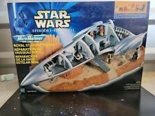 GALOOB STAR WARS MICRO MACHINES EPISODE 1 ROYAL STARSHIP REPAIR,NEW,SEALED!