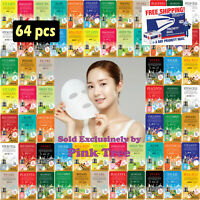 [Malie]  64 pcs Ultra Hydrating Essence Korean Mask Pack, Korean Cosmetic Sheets