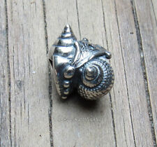 Authentic Trollbeads Silver Love Conch  TAGBE-20188