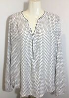Simply Styled Women's Blouse Size XL Extra Large Long Sleeve Shirt Top