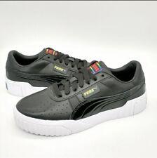 Puma Cali Rainbow Bold Black Sneakers Women's US 8 374609-01 NEW