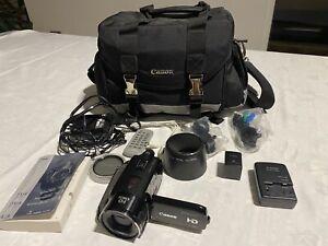 Canon Vixia HFS10 HD Camcorder