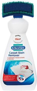 New Dr Beckmann Carpet Stain Remover with Cleaning brush 650 ml, White