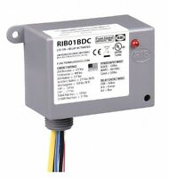 RIB01BDC Enclosed Dry Contact Input Relay - 20 Amp SPDT, Class 2 (120 VAC)