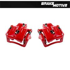 For RAINIER SSR TRAILBLAZER ENVOY ASCENDER BRAVADA 9-7X Rear Red Brake Calipers