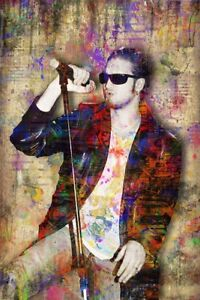 Layne Staley 16x20in Poster, Layne Of ALICE IN CHAINS Print Free Shipping US