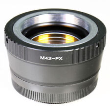 0.72x Focal Reducer Speed Booster M42 screw lens to Fujifilm X Adapter FX Fuji
