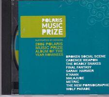 Polaris Music Prize 2006 CD - Broken Social Scene, K'NAAN, New Pornographers etc