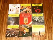 DGG DIGITAL – Claudio Abbado - SAMMLUNG – 9 LPs – SCHUBERT RAVEL PERGOLESI