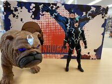 Mezco One:12 Marvel Black Bolt & Lockjaw Set