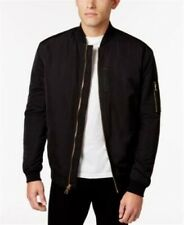 WHT SPACE Mens Padded Bomber Jacket Black XXL Shaun White $115