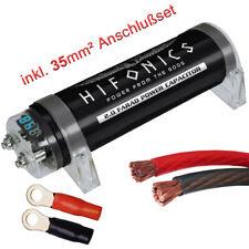 Hifonics HFC2000 - 2 Farad 2F Powercap + 35mm² Kabel Anschlußset Kondensator 12V