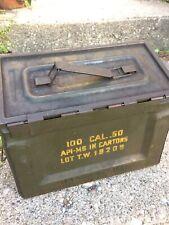 WWII USGI AMMO CAN side Opener 50 Cal WW2 USGI Ammunition Box US military