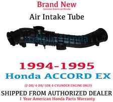 Genuine OEM Honda Accord EX 4Cyl 2.2L Air Intake Tube 1994-1995 (17228-P0A-A00)