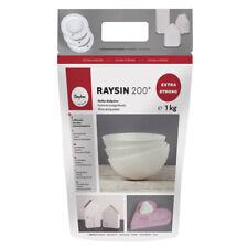 Raysin 200 weißes Gieß-pulver Giess-masse genaue Abformung Rayher 3699000