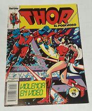 thor # 18 , 1983 spanish edition
