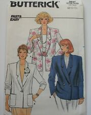 Butterick Sewing Pattern 3637 Misses Jacket Sizes 8 10 12