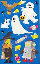 Mrs. Grossman's Giant Stickers - Trick or Treaters - Halloween Kids - 2 Strips