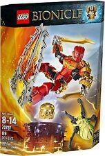 Nuevo Y En Caja Lego Bionicle 70787: Tahu Master Of Fire - ✴ Totalmente Nuevo Y Sellado aún ✴