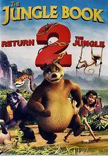 BRAND NEW CHILDREN'S  DVD // THE JUNGLE BOOK // RETURN 2 THE JUNGLE // 68 min