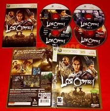 LOST ODYSSEY XBOX 360 Versione Ufficiale Italiana 1ª Edizione COMPLETO - FG