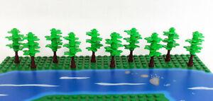 NEU 6x LEGO Nadelbäume Kiefer Pflanzen Fichte Baum Bäume