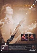Pierre Bensusan UK 'Guitarist' Trade Press advert