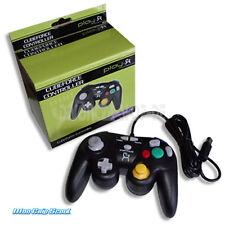 Nintendo GAMECUBE Play-X CONTROLLER NERO-NUOVO + OVP
