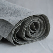 100% Wool Felt Fabric - 1mm Thick - Made in Europe - Light Grey - 1/2m x 1.8m