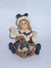 Boyds Dollstone - Kimberly with Klaus.Special Delivery - #3547 - Retired