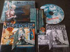 Megadeth / United Abominatios /JAPAN LTD OBI bonus