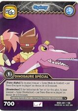 Carte Card Game DINOSAUR KING DKDS - 81 /100 SPINY Dinosaure Special VF