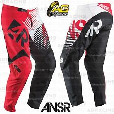 "Answer 2015 Youth Syncron Red White Race Pants 16 inch 16"" Motocross Enduro Quad"