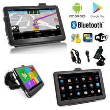 Android 7 Zoll Navigationsgerät PKW LKW  Navigation Europa Karten Bluetooth Wifi