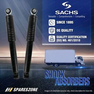 2 x Rear Sachs Truck Shocks for Iveco LD5500 MT3500 MP4100 MP4300 MP4500 MP4700