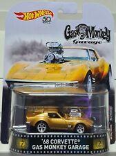 Hot Wheels ´68 Corvette Gas Monkey Garage FLD15 DMC55 Retro Entertainment 1:64