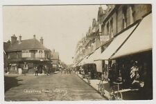 Surrey postcard - Chertsey Road, Woking - RP
