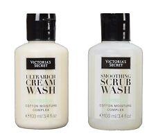 Victorias Secret Verbena Ultrarich Cream Body Wash & Scrub Travel Size Set