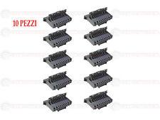 CONNETTORE GRIGIO PER BODY COMPUTER FIAT PANDA 10 VIE  SENZA TERMINALI (10 PZ.)