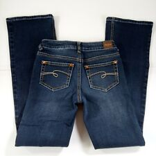 Justice Jeans Girls Size 14S Bootcut Blue