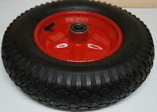 "16"" Wheelbarrow Wheel 1"" BEARING 25.4mm  Pneumatic 4.80 /4.00 - 8"