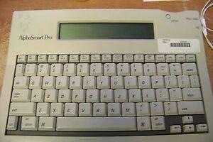 AlphaSmart Pro ALF-C01 Word Processor