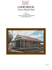 COURT HOUSE - CROSS STITCH CHART