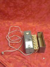 Untested rare Heathkit Model GD-18 Grid Dip Meter Coil Set box ham radio tester